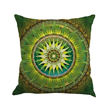 Kissenbezug Kissenhülle 45x45 Cm Ronamick Geometrie Malerei Pillow Cover  Leinen Kissenbezug Dekokissen Fall Sofa Pillowcase Home
