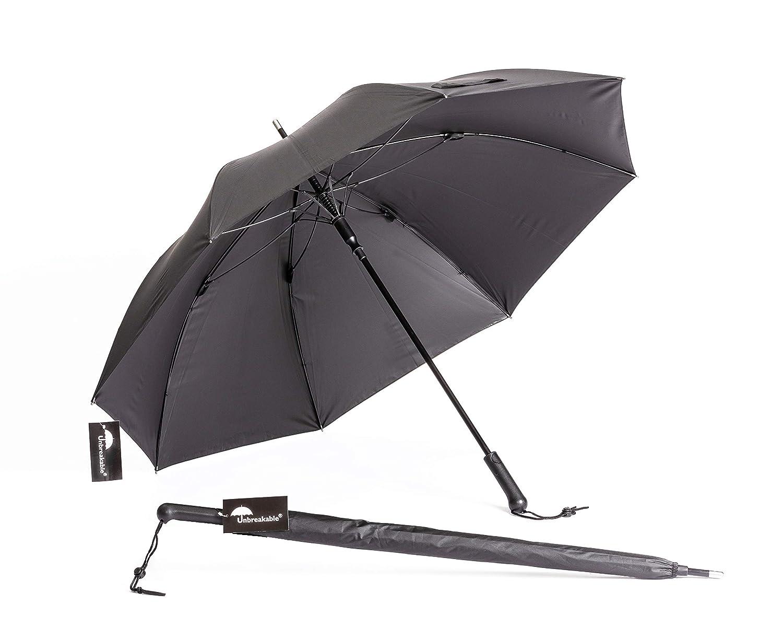 壊れないwalking-stick傘標準モデルu-111 (W/Straightハンドル)   B00HZYTMTY