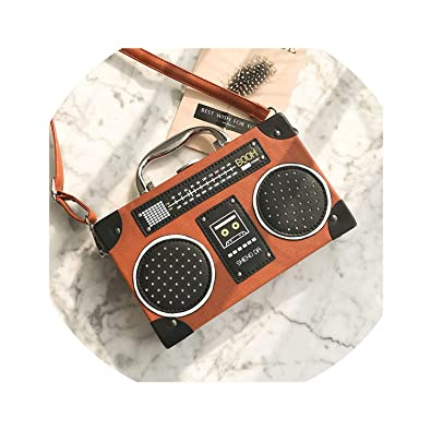 Amazon.com: Estilo vintage personalidad vieja radio FM ...