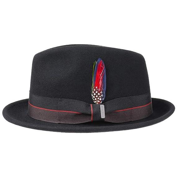174c30f0eddf3b Stetson Sapiro Player Hat Wool Felt Fedora Outdoor: Amazon.co.uk: Clothing