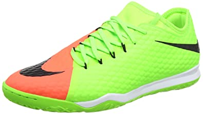 new arrival 165d3 7b414 Nike Mens Hypervenomx Finale II Indoor Shoes  Electric Green  (8.5)