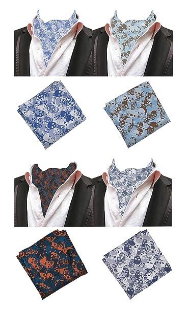 Amazon.com: MoHSLEE - Juego de 4 pajaritas y pañuelos de ...