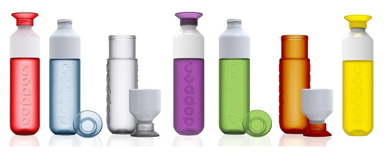 Simply Red Dopper Water Bottle