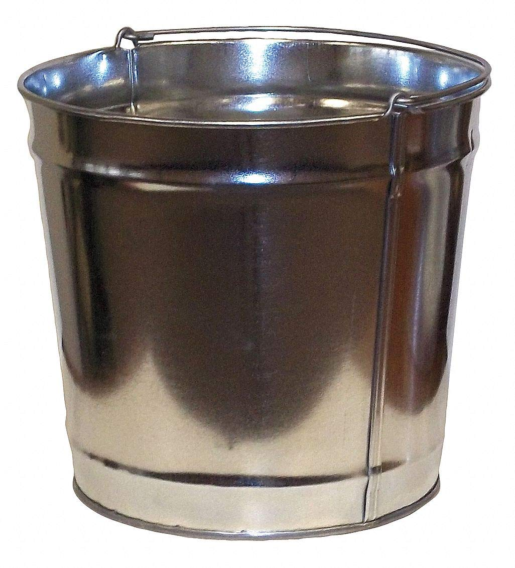 4 gal. Silver Replacement Pail, 10' Height