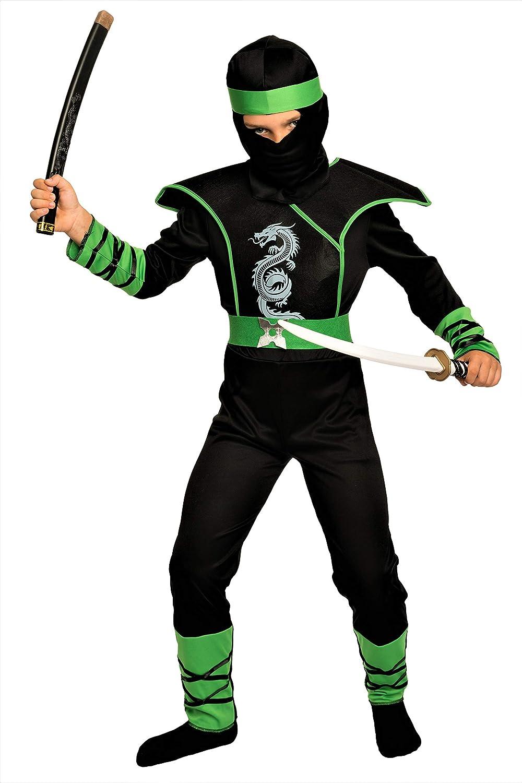 Costume Ninja Per Bambini ninjakostüm BAMBINI COSTUME CARNEVALE