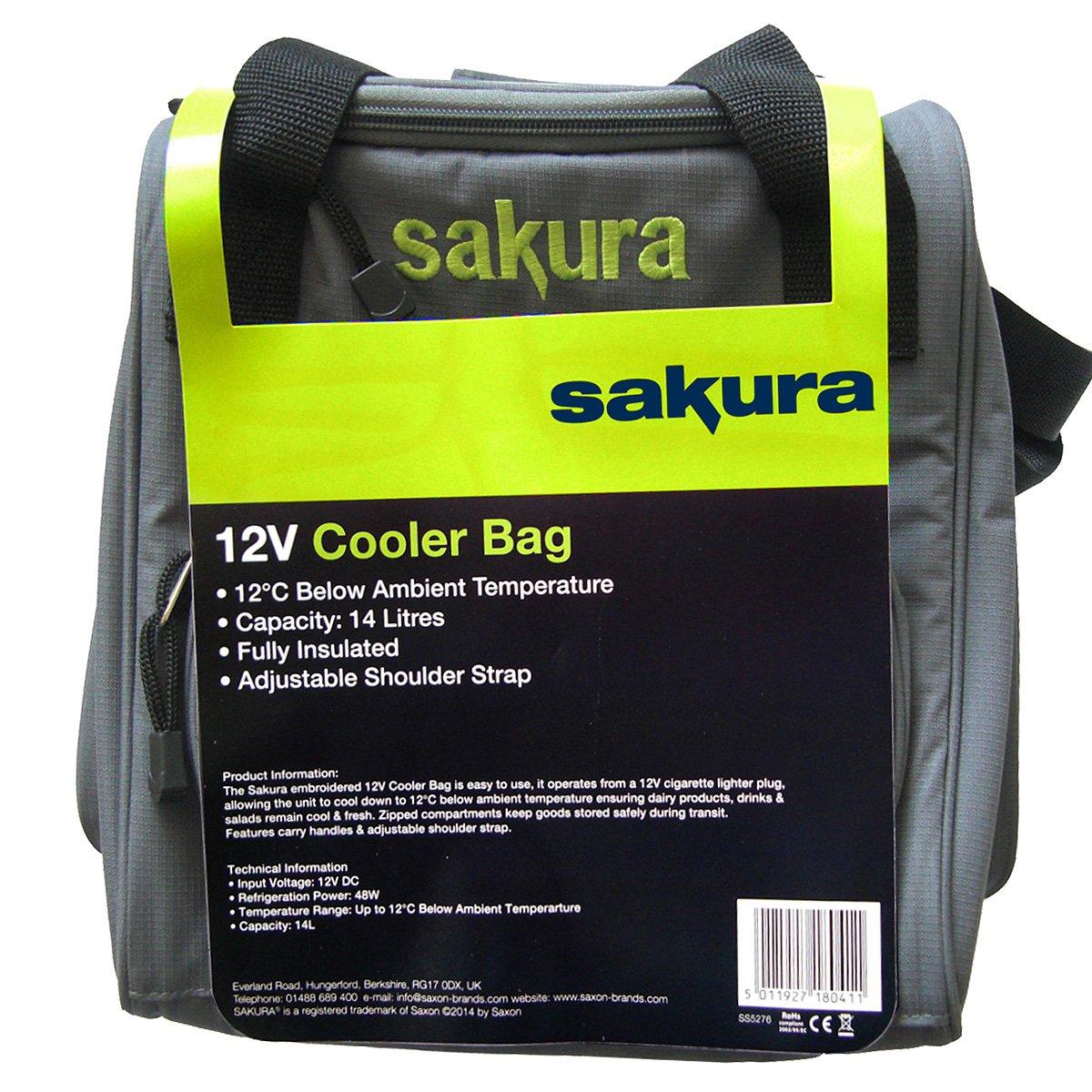 12 V Sakura Bolsa t/érmica 14 litros de capacidad