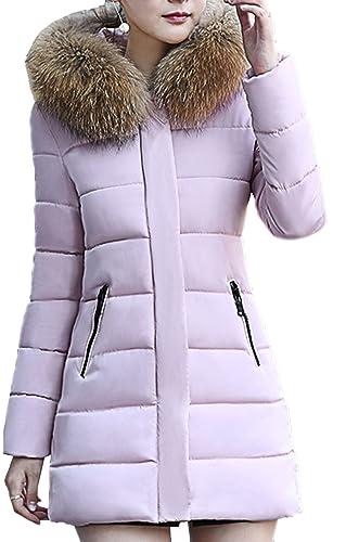 Scothen Señoras Abrigo de invierno Abrigo largo cálido Invierno Otoño Abajo Chaqueta Elegante Imperm...