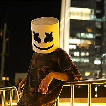 Mazurr Fiesta de Halloween Night Club látex Blanco máscara ...