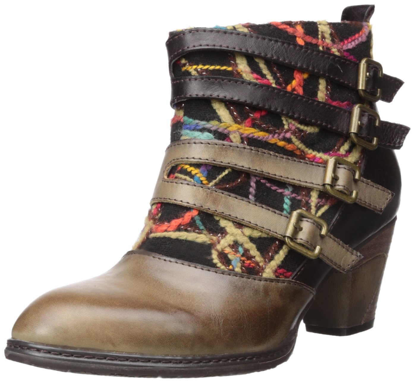 L'Artiste by Spring Step Women's Redding Boot B00JKT8WF2 38 EU/7.5-8 M US|Taupe Multi
