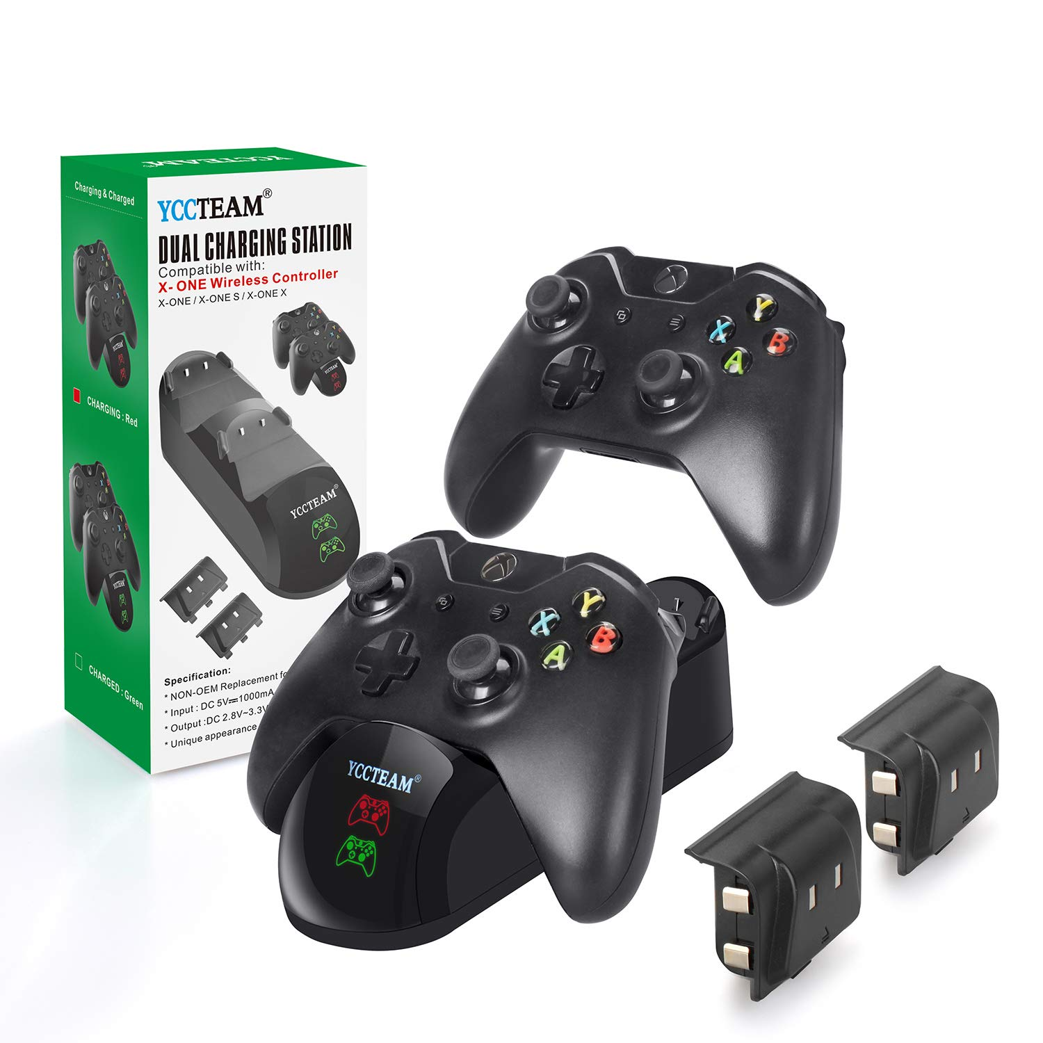 Review for Xbox One/Xbox One S/Xbox One X Controller Charger, Xbox