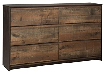 new concept f87a1 1152c Ashley Furniture Signature Design - Windlore Dresser - Dark Brown