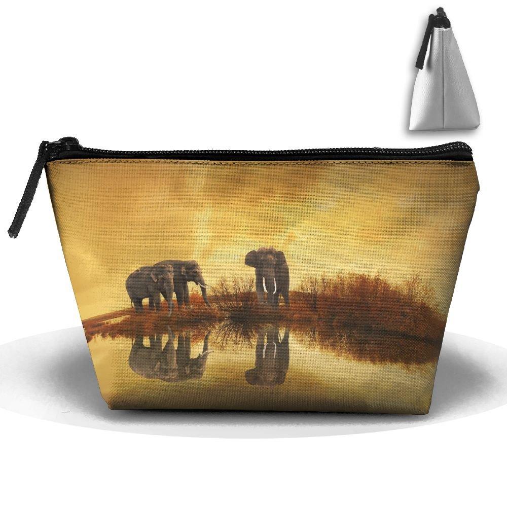 WQWSVX Thai Elephant Fashion Travel Bag Trapezoid by WQWSVX