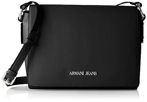 Armani Jeans 922578CC864, Bolso Mujer, Negro (Nero 00020), 8x20x28 cm: Amazon.es: Zapatos y complementos