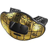 Shock Doctor Max Airflow Mouth Guard Football & High Impact Sports, Breathable & Comfortable, Offers Lip Protection, Youth & Adult Sizes, Includes Helmet Strap
