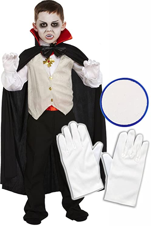 98ab89f23989 Image Unavailable. Image not available for. Color  Boys Vampire Dracula Halloween  Fancy Dress ...