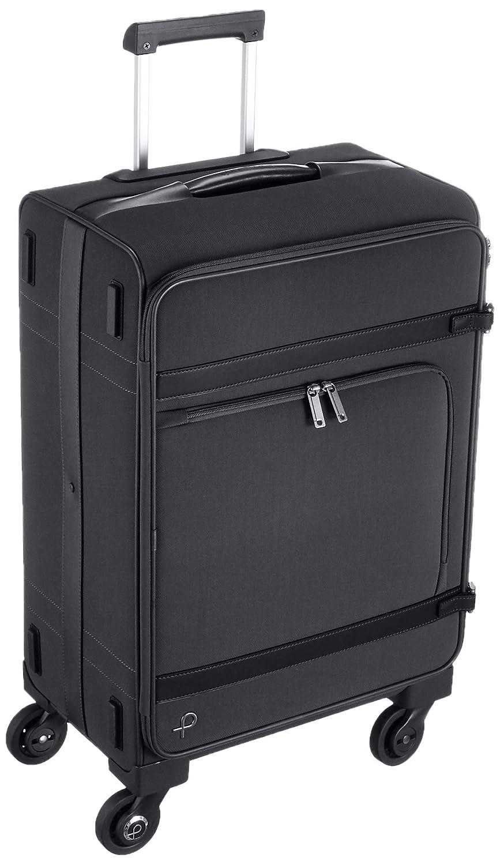 [プロテカ] スーツケース 日本製 ジェントリーTR 49L 55cm サイレントキャスタ49L 55cm 4.3kg 12792 B06ZXR2MLWブラック