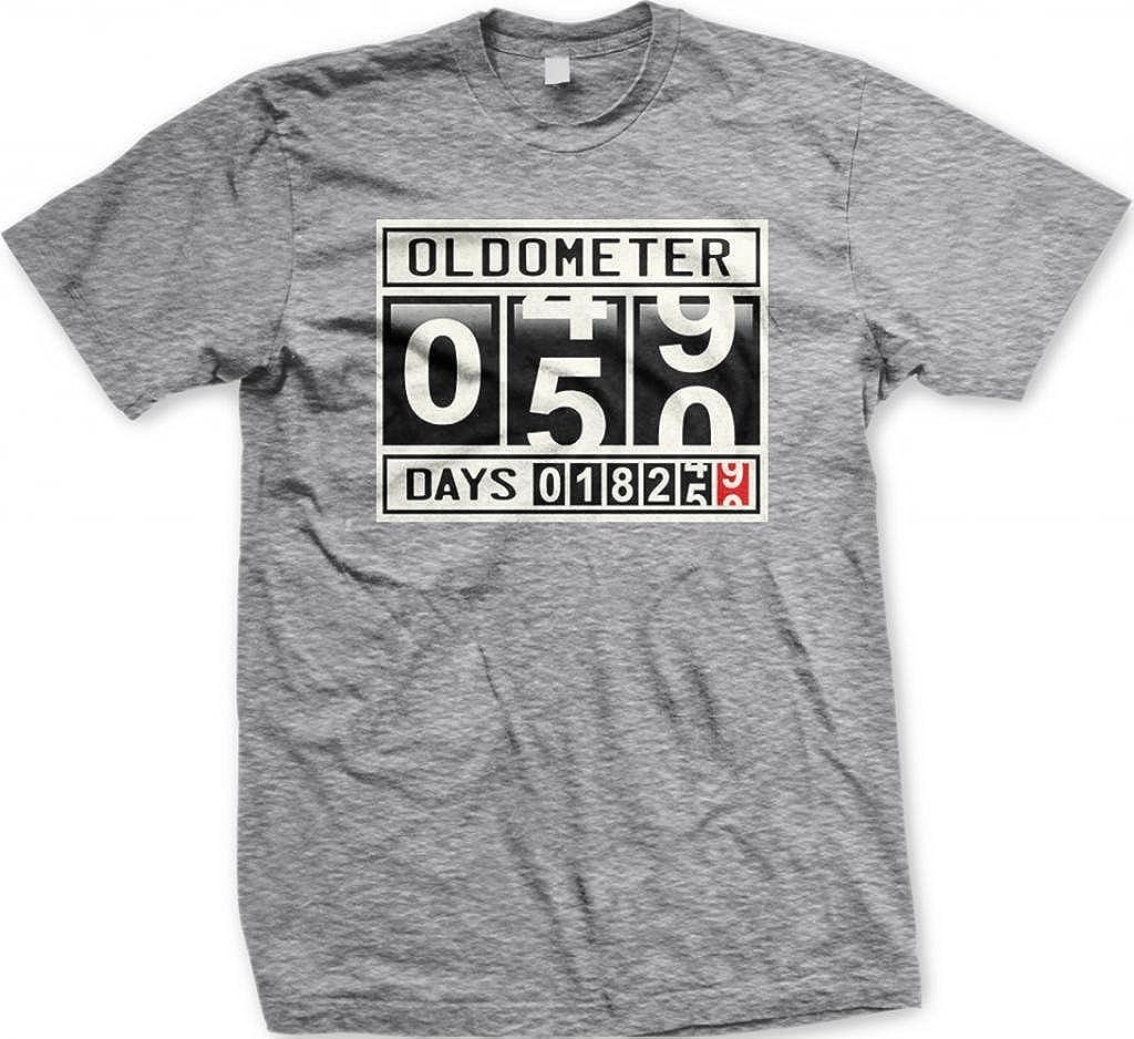 Oldometer - Camiseta para Hombre (50 años), diseño con Texto ...