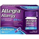 Allegra Allergy 24 Hour Gelcaps, 180 mg, 60 Count