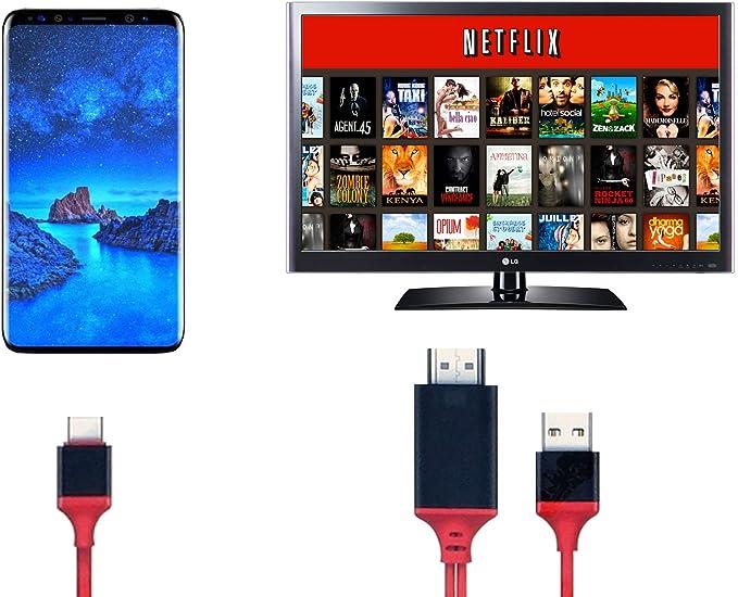 Amazon.com: Cybertech 6,5 pies MHL Micro USB a HDMI 1080P ...