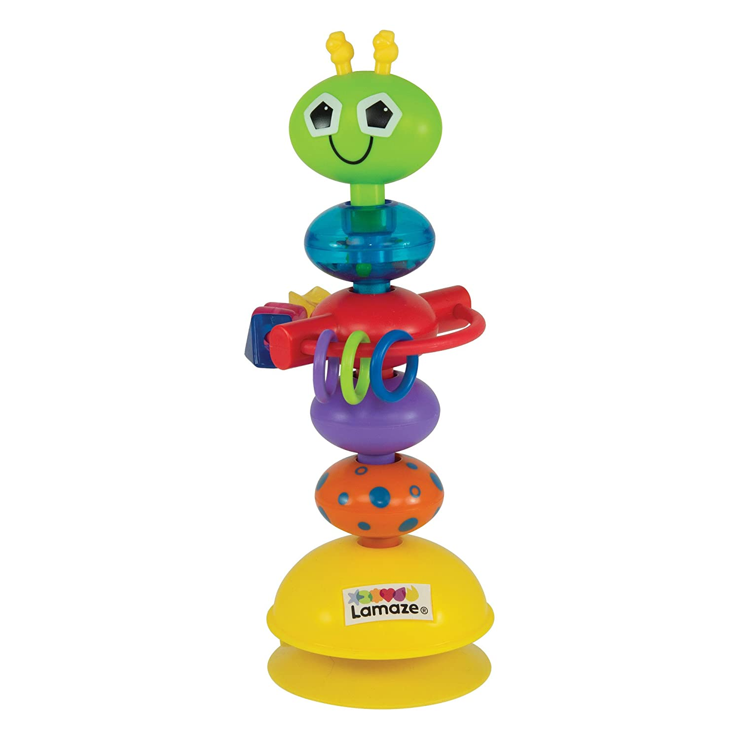 Lamaze Busy Bug High Chair Table Top Baby Toy Learning Curve LC27224
