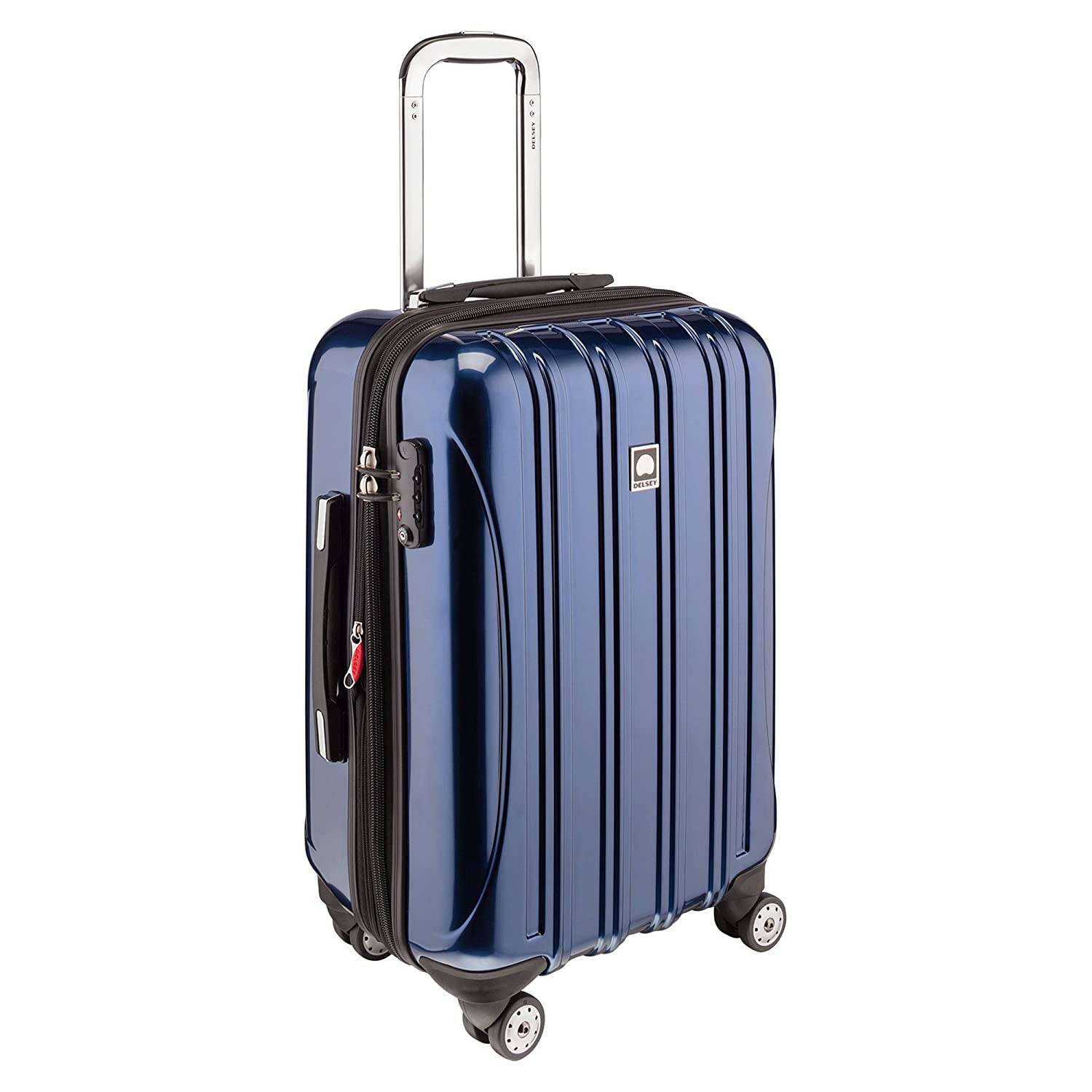 Attrayant Amazon.com | Delsey Luggage Helium Aero Carry On Spinner Trolley, Blue, One  Size | Carry Ons