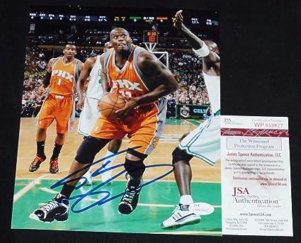 sports shoes bc07d 224b7 Shaq Shaquille O'Neal Autographed Signed Phoenix Suns 8x10 ...