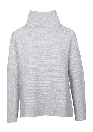 neuer & gebrauchter designer Sonderverkäufe bester Platz Hemisphere Kaschmir-Pullover Velvet grau: Amazon.de: Bekleidung