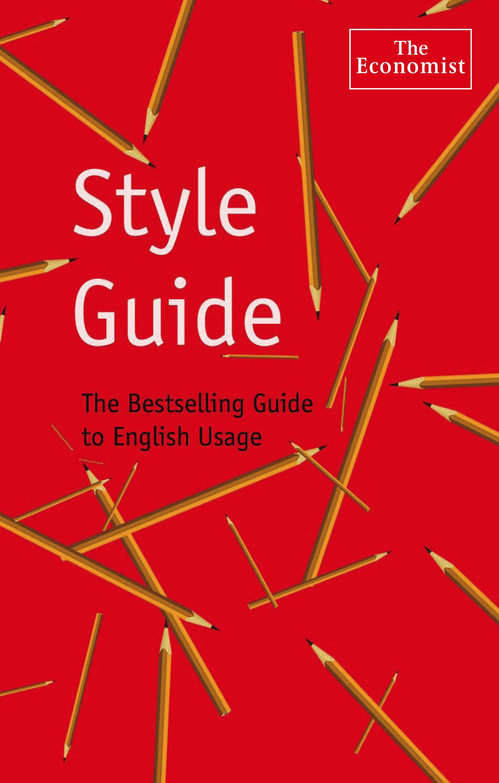 The Economist Style Guide: 9th Edition by Brand: Bloomberg Press