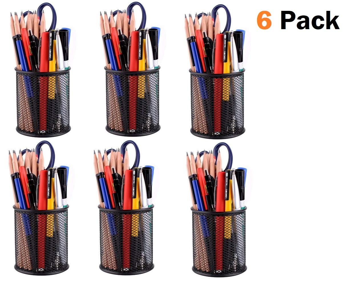 Stylastra Pack of 43 Metal Round Pen Stands Desk Organisers: Amazon