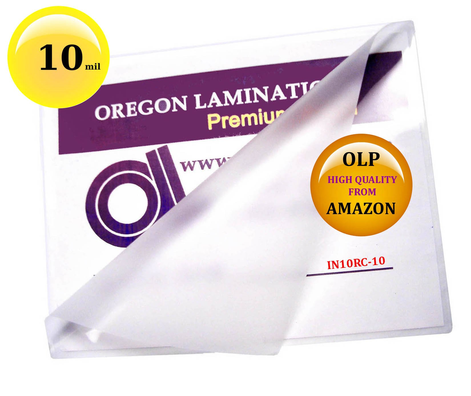 Qty 500 10 Mil 6 x 9 Laminating Pouches Hot Laminator Sleeves