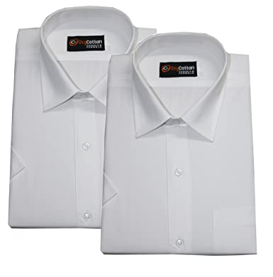ccd7775fe86 Selection Men's Cotton Half Sleeve Shirts