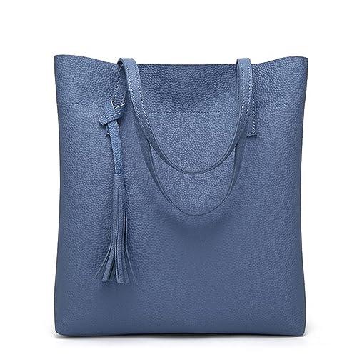 6e4042433874 Gome-z Women s Soft Leather Handbag Women Shoulder Bag Luxury Brand Tassel  Bucket Bag Fashion