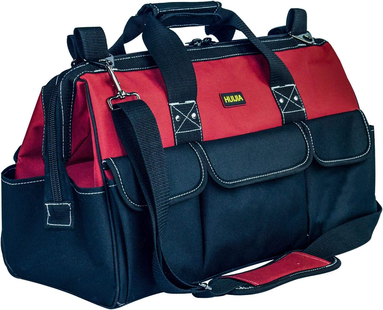 HUIJIA 17-inch Wide Mouth Waterproof Heavy Duty Tool Bag