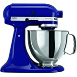 KitchenAid KSM150PSBU Artisan Series 5-Qt. Stand Mixer with Pouring Shield - Cobalt Blue