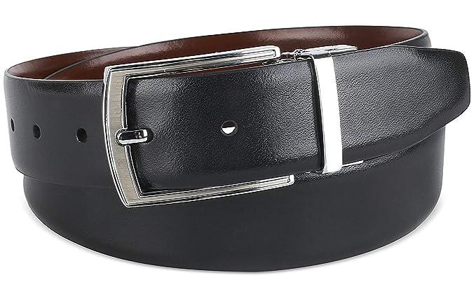 The Savile Row Company Mens Dress Belt 35MM 1.38 quot  wide Black Brown    Reversible ( 82085b6ffa