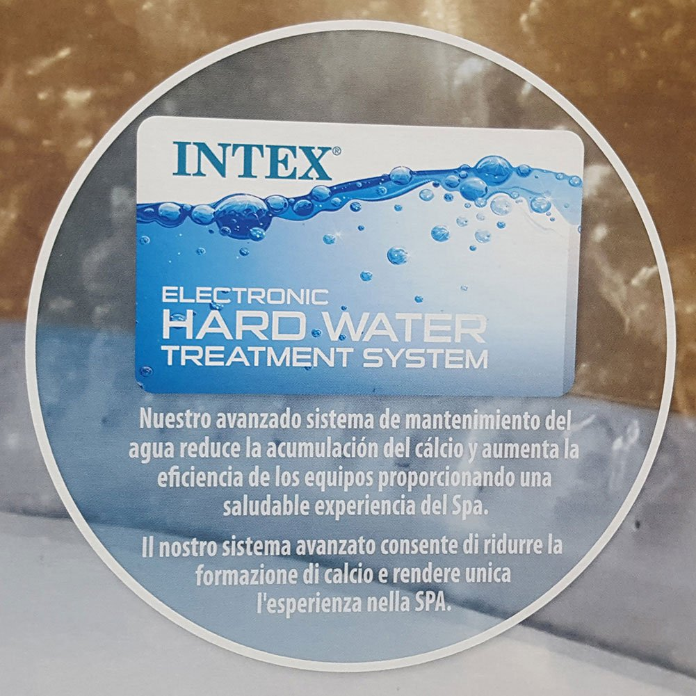 Intex Pure Spa Bubble Therapy con bomba, calentador y sistema purificazione Agua: Amazon.es: Jardín