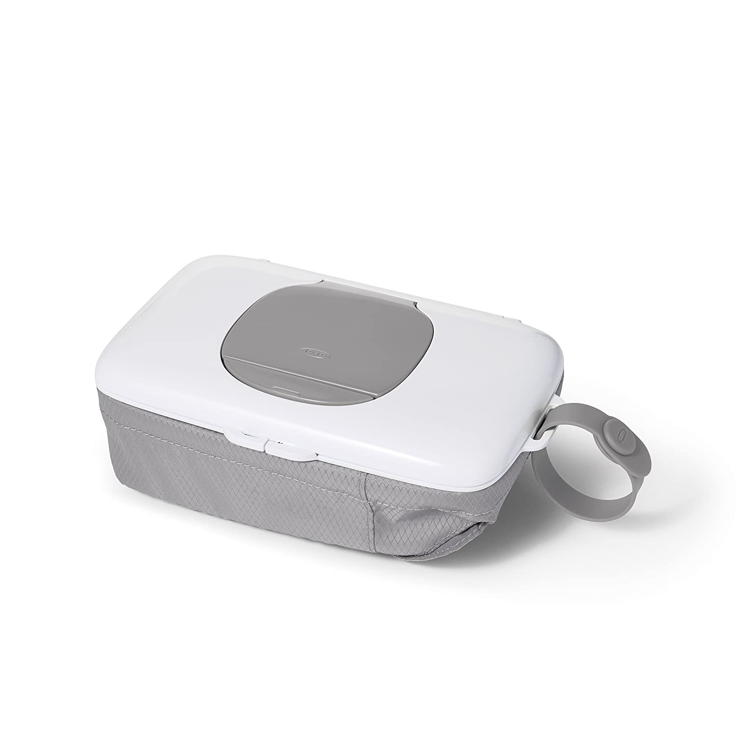 Oxo Tot On-The-Go Wipes Dispenser with Diaper Pouch, Gray 62100200