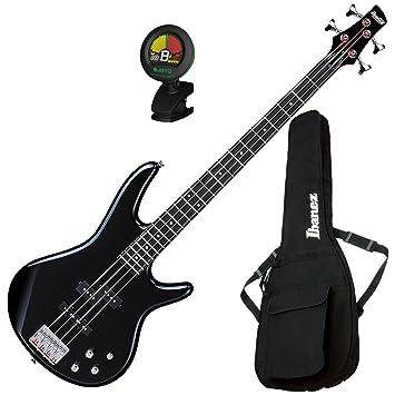 Ibanez GSR200BK 4 String Electric Bass Guitar Black W Gig Bag And Tuner