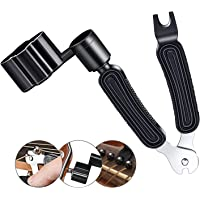 3 In 1 Multifunctional Guitar Maintenance Tool/String Peg Winder + String Cutter + Pin Puller Instrument Accessories…