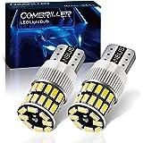 Combriller 194 LED Light Bulb 6000K White, Error Free 168 T10 2825 w5w Led Interior Car Lights for Car License Plate Light Da