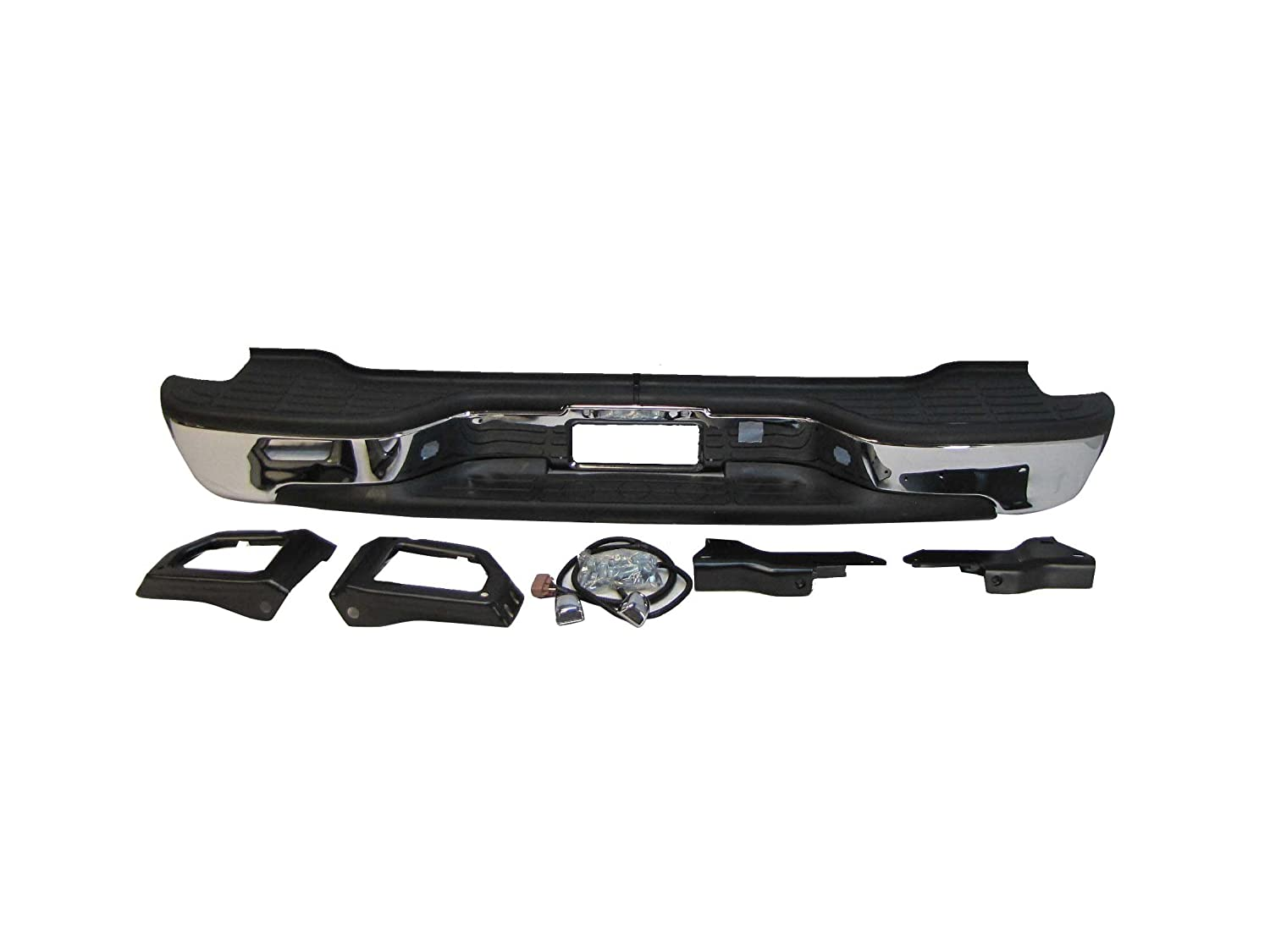 Tahoe 2004 chevy tahoe front bumper : Amazon.com: Rear Step Bumper ASSY 2000 2001 2002 2003 2004 2005 ...