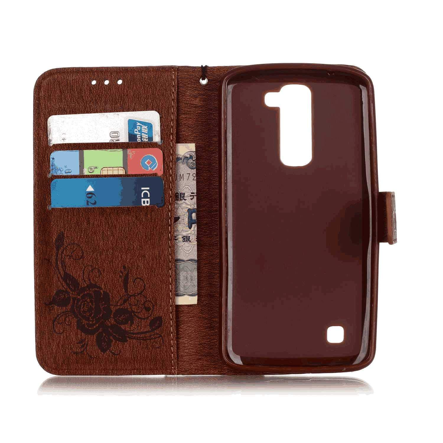 iPhone Xs Flip Case Cover for iPhone Xs Leather Card Holders Premium Business Kickstand Wallet case with Free Waterproof-Bag Grey4
