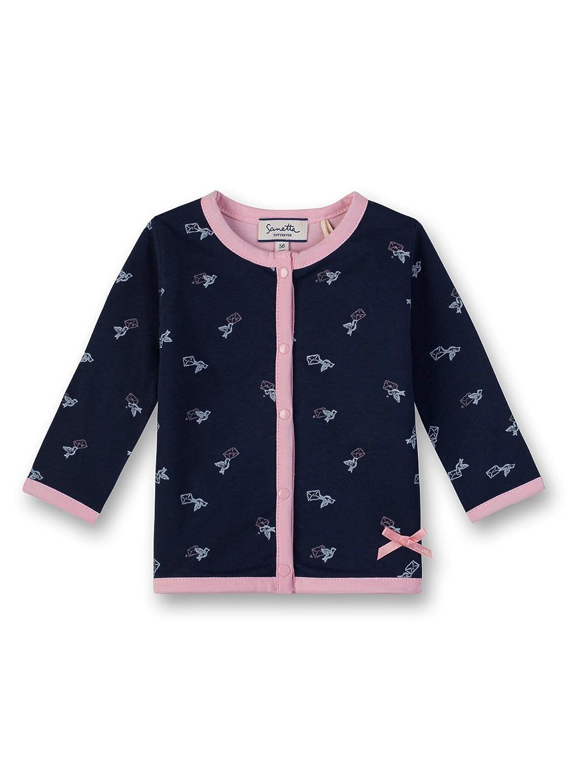 Sanetta Baby-Mädchen Sweatjacke Jacket Reversible 906509.0