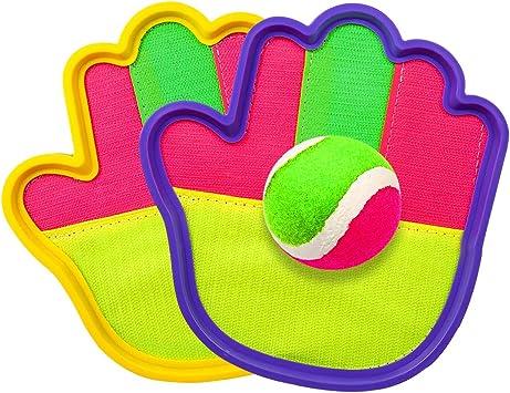 Klettballspiel Wurfspiel Kinder Ballspiel für Strand und Garten