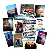 64 Pieces Supreme Stickers Assorted Variety Pack