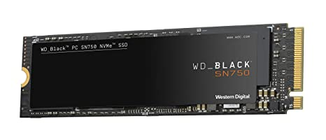 SSD Black 500GB SN750 M.2 PCIE Gen3 500GB Unidad de Disco ...