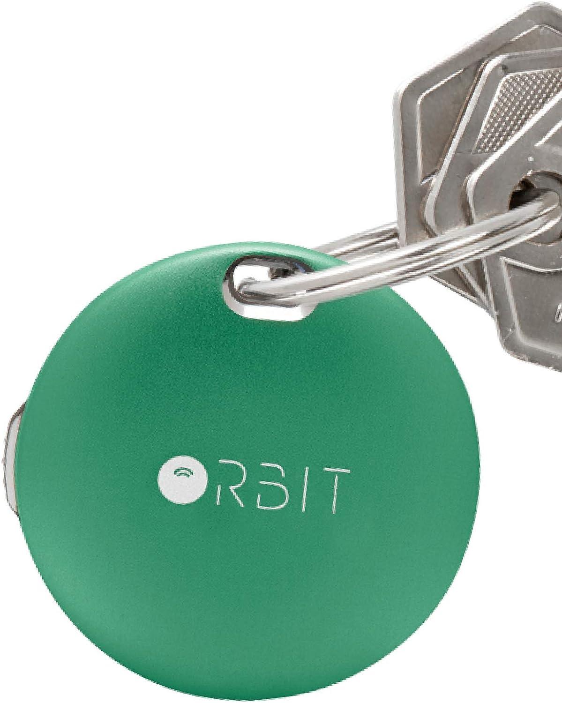 紛失防止タグ 【電池交換式 アルミボディ】 FINDORBIT ORBIT KEY 紛失防止 アラームでお知らせ & GPS で置き忘れ場所を記録 キーファインダー 【Emerald Green】
