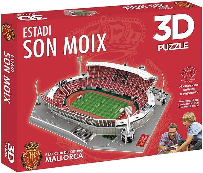 Eleven Force Puzzle 3D Estadio de Son Moix (13385): Amazon.es: Juguetes y juegos