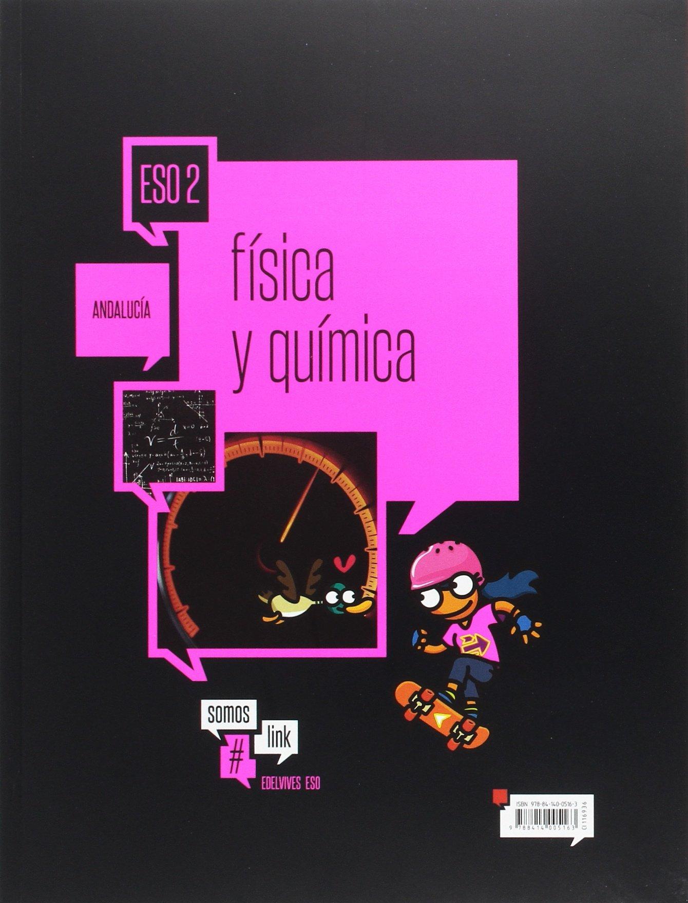 afeef19c30 Física y Química 2.º ESO Andalucía (Somoslink): Amazon.es: Mª Carmen  Arróspide Román, María Dolorés Galván Torres: Libros