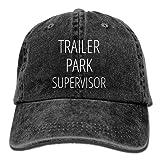 Trailer Park Supervisor Adjustable Washed Cap